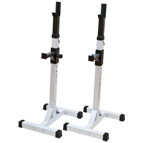 adjustable bench press white exercise weight lift adjustable barbell squat bench press workout stand ebay