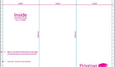 Trifold Brochure Measurements Brickhost 6cce7d85bc37 Trifold Size Template
