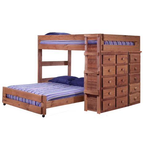 l shaped bunk bed chelsea home full over full l shaped bunk bed with 15