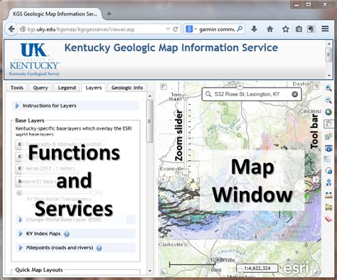 kentucky geologic map information service tutorial for accessing kgs and gas well record system