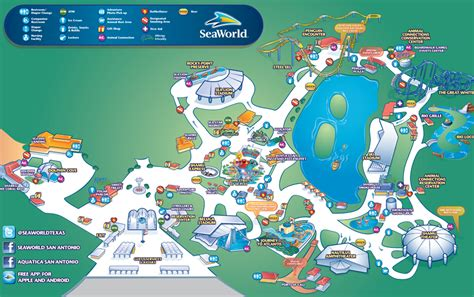 seaworld texas map sea world san antonio park map travel san antonio texas ideas cruise vacation