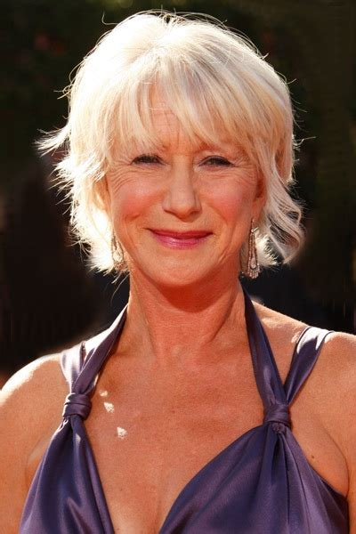 lady over 60 pic gallery helen mirren mature hairstyles