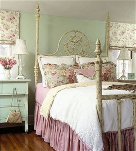 Vintage Pastel Bedroom by A Tray Of Bliss All Things Homespun Peaceful Pastel