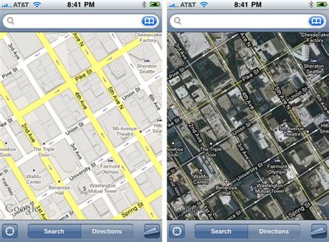 map view irony you need a map to find view on the iphone