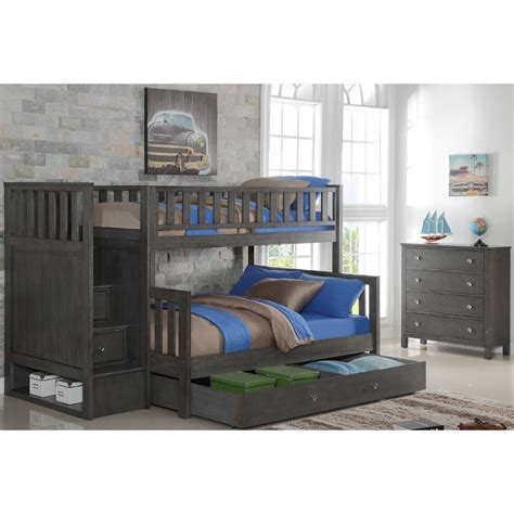 Bunk Bed Sets With Mattresses Quiz Bunk Bed Set Bunk Bed Dresser Ladder Mirror Grey Quiztoflgrbr