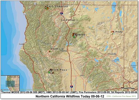map of northern california fires cfn california news cal news look