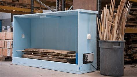 logosol sauno wood drying kiln   build  set