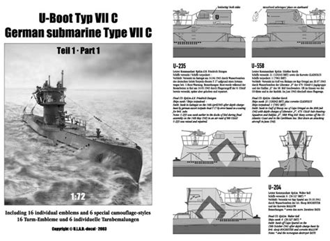 u boat decals type viic u boat decal review by ulrich leverenz ulad 1 72