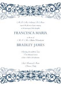 Announcement Cards Templates Free Wedding Invitations Template