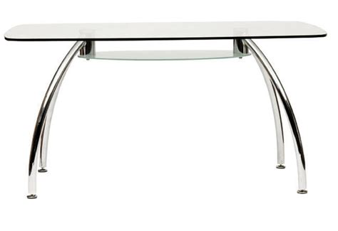 da 211 rectangle glass dining table onsite office