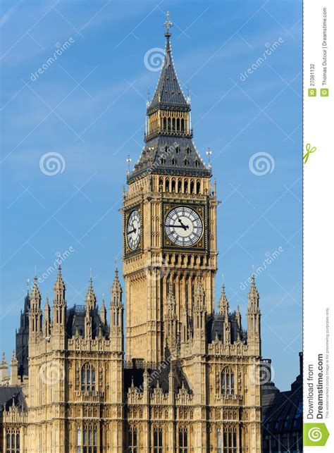 london clock tower the clock tower in london stock photo image of time