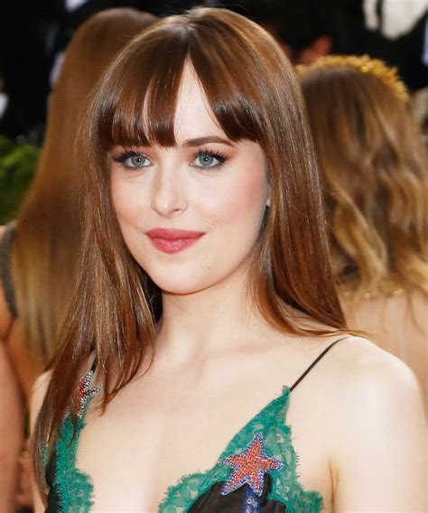 how to cut bangs like dakota johnson bangs like dakota johnson the best haircuts and hair