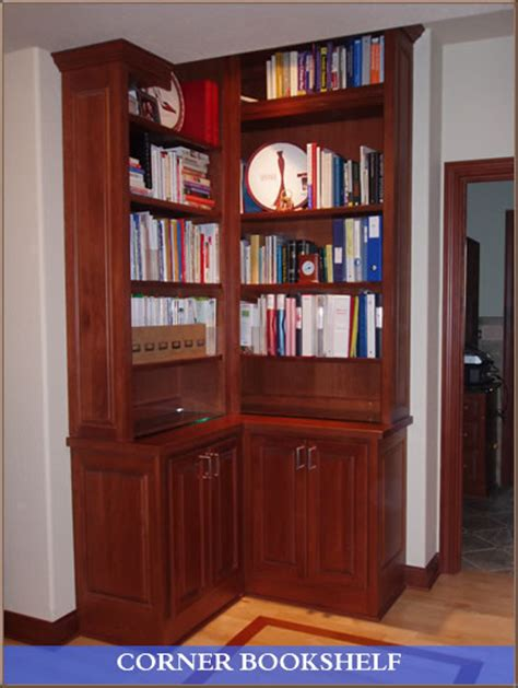 cherry wood corner bookcase cherry wood corner bookshelf in hartland wisconsin d and d millwork