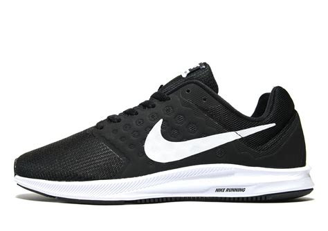 Nike Free Running Black lyst nike downshifter 7 in black for