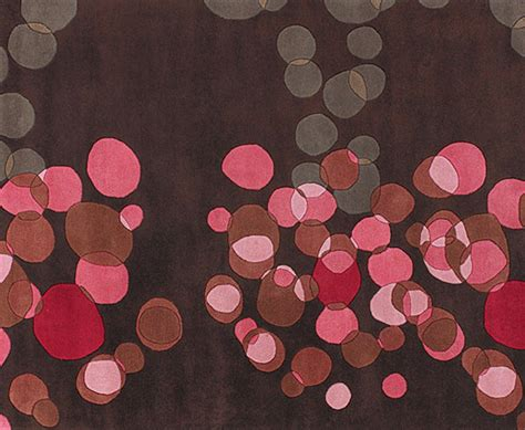 Brown Pink Rug six beautiful contemporary rugs for modern apartments