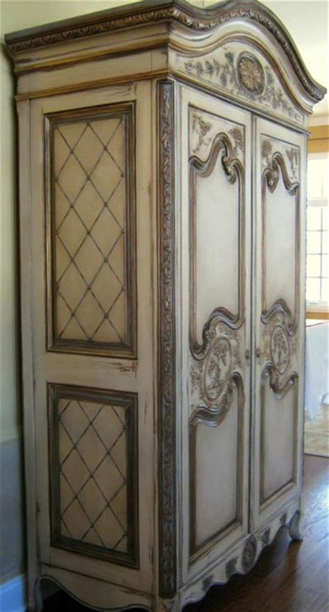 Painted Armoire by Painted Country Armoire Traditional