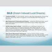 Lucid Dream Tec...