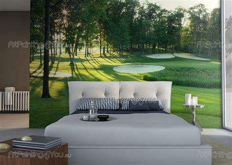 golf wall mural wall murals landscape canvas prints posters golf course 1700en