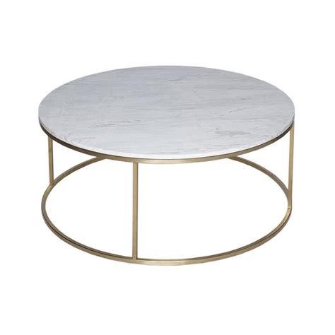Gold Metal Coffee Table by Buy White Marble And Gold Metal Coffee Table From Fusion