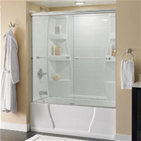 sliding bathtub door installation