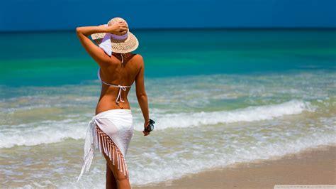 beautiful women at beach full hd wallpapers