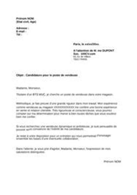 Lettre De Motivation Vendeuse Non Qualifié Lettre De Motivation H M Employment Application