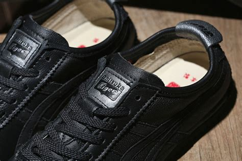 Onitsuka Tiger Mexico 66 Dx Black White onitsuka tiger mexico 66 deluxe nippon made black soldes