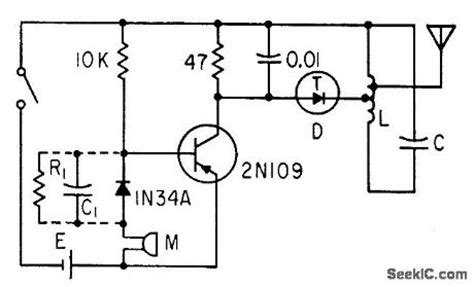 tunnel diode oscillator circuit index 101 signal processing circuit diagram seekic