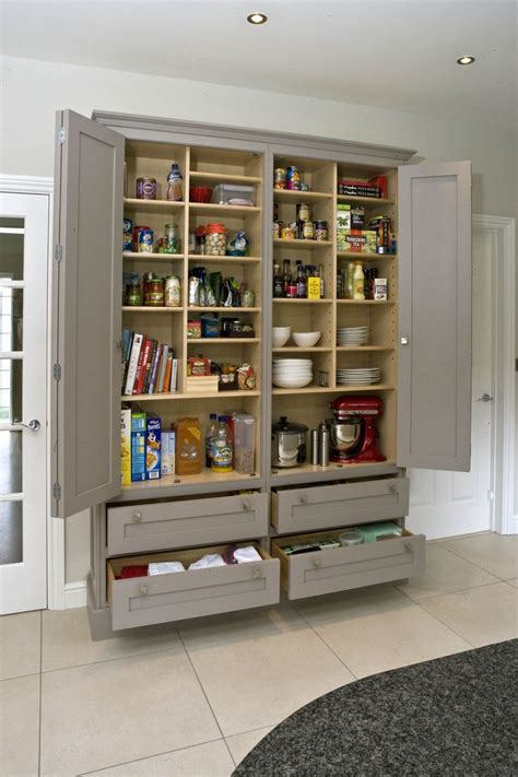 wall pantry ideas  pinterest pantry cabinets kitchen pantry  built  pantry