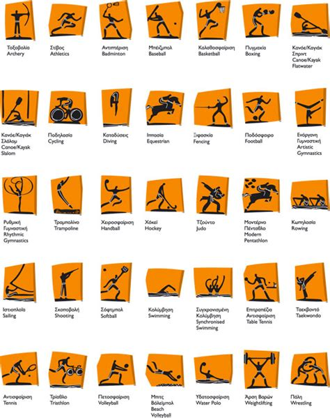 Different Types Of Greek Vases Olympic Pictograms Tapook