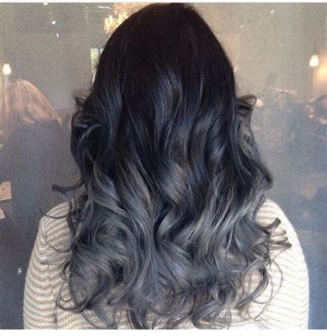 grey ombre grey ombre hair colors cuts pinterest grey ombre