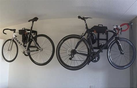 Garage With Loft Apartment bike racks artivelo on the wall by gert jan artivelo