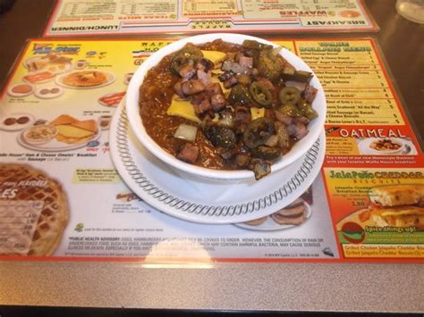 waffle house slidell super chili bowl 4 00 17 janvier 2014 picture of waffle house slidell tripadvisor