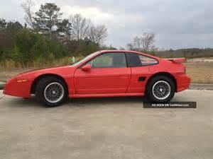 1986 Pontiac Fiero Se 1986 Pontiac Fiero Gt