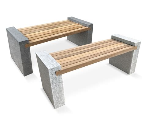 gallery bench gallery teak and granite bench 1 3m lindsey teak