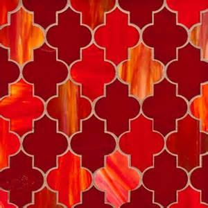 attractive Red Glass Tile Kitchen Backsplash #8: mediterranean-tile.jpg