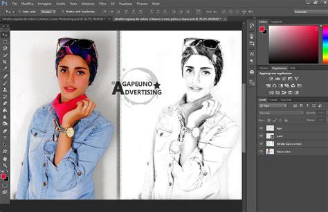 tutorial photoshop cs5 bianco e nero into the dark photoshop action fotografia ritratti