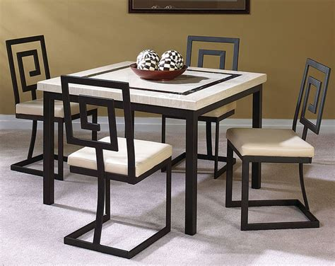 maze 5 dinette set modern dining room columbus