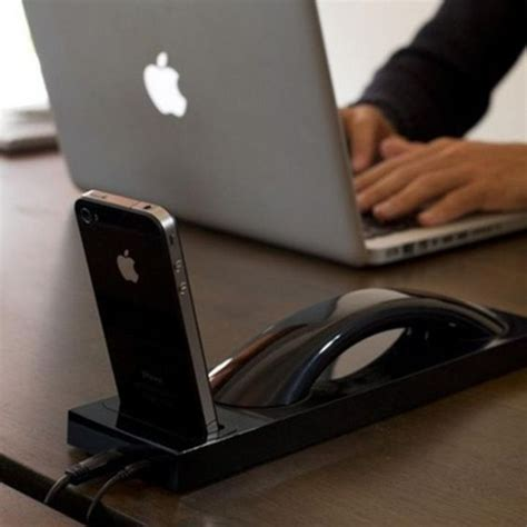 turn your mobile into a desk phone 10 desirable docks that turn your iphone into a desk phone