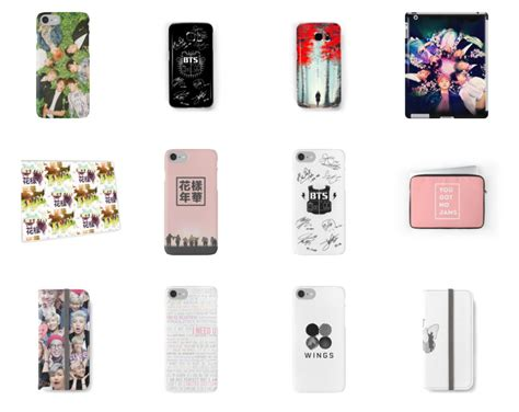 kpop theme phone bts merchandise poster phone case notebook and more