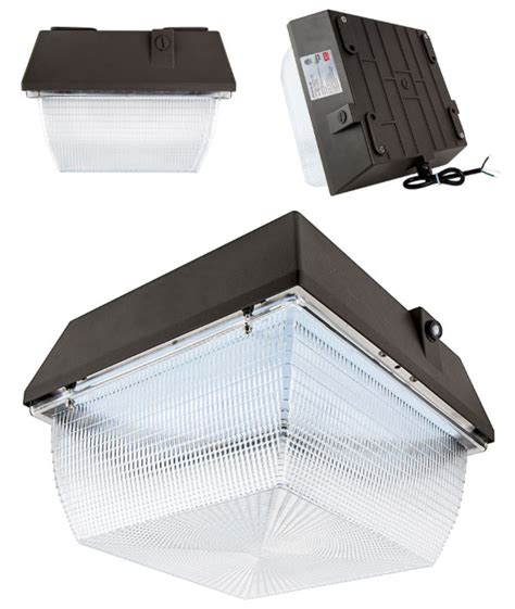 Led Canopy Light Fixtures Bright Leds To Offer New Energy Saving Led Canopy Lights Electrical Solutions
