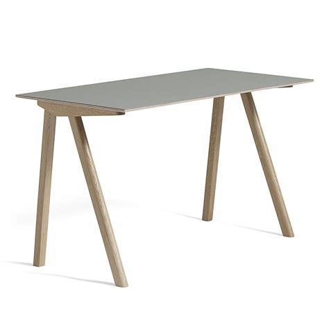schreibtisch 130 x 60 the copenhague desk cph90 by hay in the shop