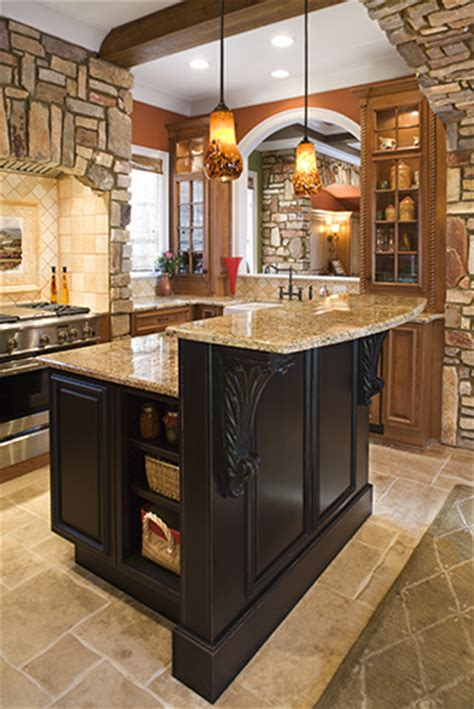 two level kitchen island designs toronto and thornhill custom transitional kitchen design