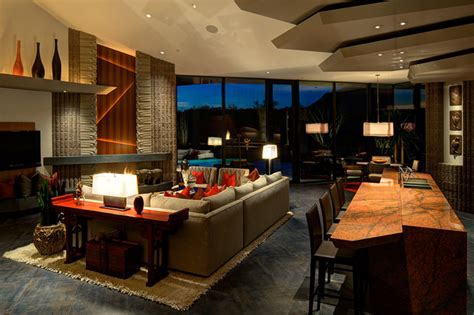 great room  modern family room phoenix