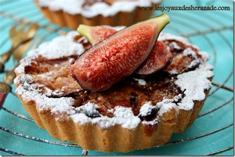 comment cuisiner les figues tartelettes aux figues les joyaux de sherazade