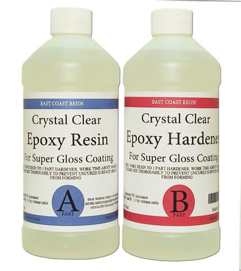 Clear Epoxy Resin Epoxy Resin 16 Oz Kit Clear For Gloss