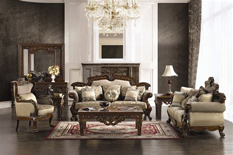 High End Living Room Sets | winslow formal high end living room set