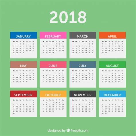 imagenes gratis año 2018 almanaque fotos y vectores gratis