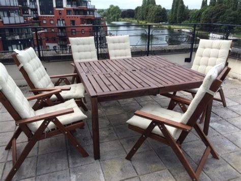 table and chairs for 6 year ikea garden patio furniture 1 table and 6 chairs less