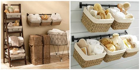 what to put in baskets in bathrooms at a wedding bathroom baskets to get organised diy decorator